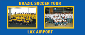 Brazil Soccer Camp in Brazil leaving from LAX
